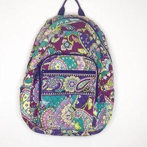 Vera Bradley Purple Paisley Backpack